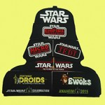 Celebration Anaheim Vintage Vader Carry Case Puzzle Patches