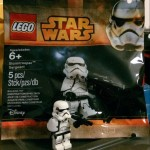 New LEGO Stormtrooper Sergeant Polybag Figure