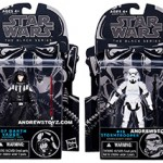 TBS Vader (Dagobah Test) and Stormtrooper Carded Images
