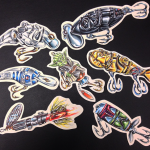 Awesome Star Wars Fishing Lure Illustrations