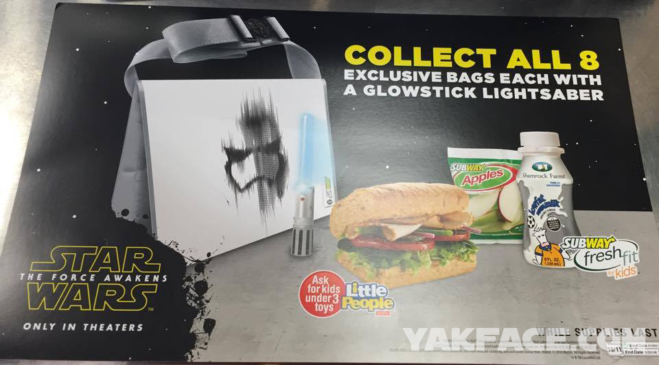 Upcoming Subway Kids Meal Bags May Be Pencil Sketch Source Only