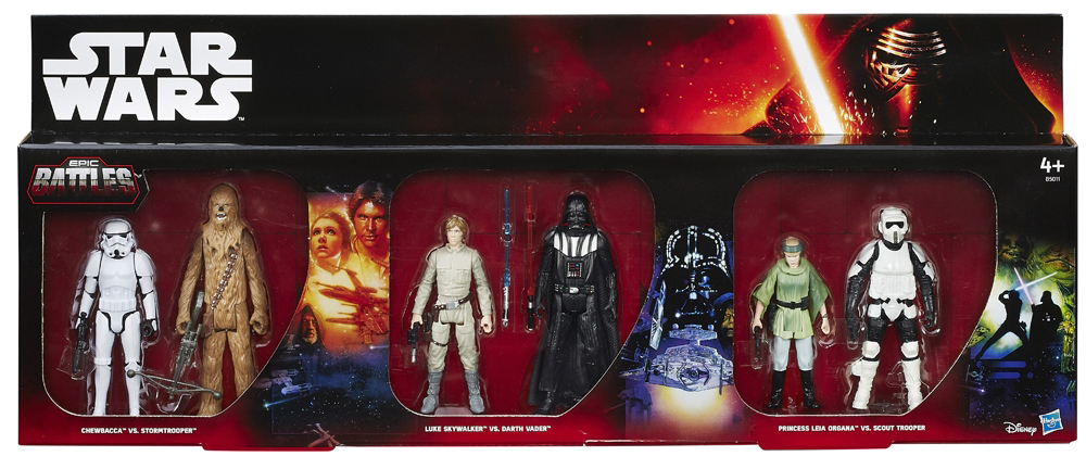 "Star Wars Toys R Us : Toys r us exclusive ""epic battles packs hitting stores"
