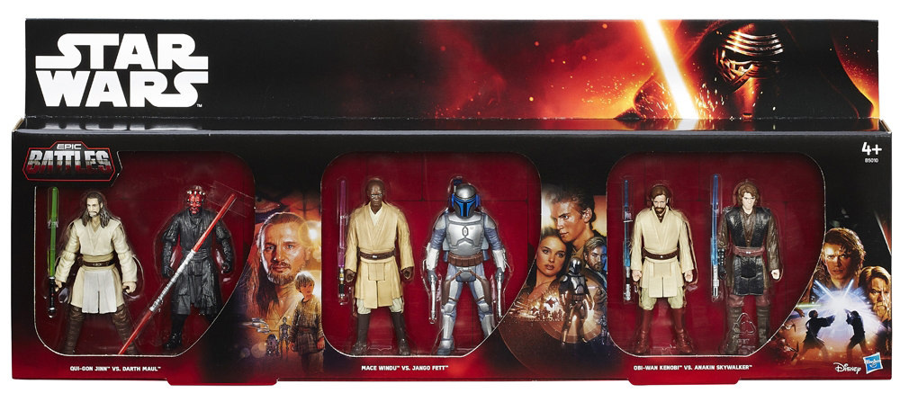 "Toys Are Us Star Wars : Toys r us exclusive ""epic battles packs hitting stores"
