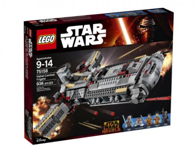 LEGO Star Wars Rebel Combat Frigate Revealed | Yakface.com