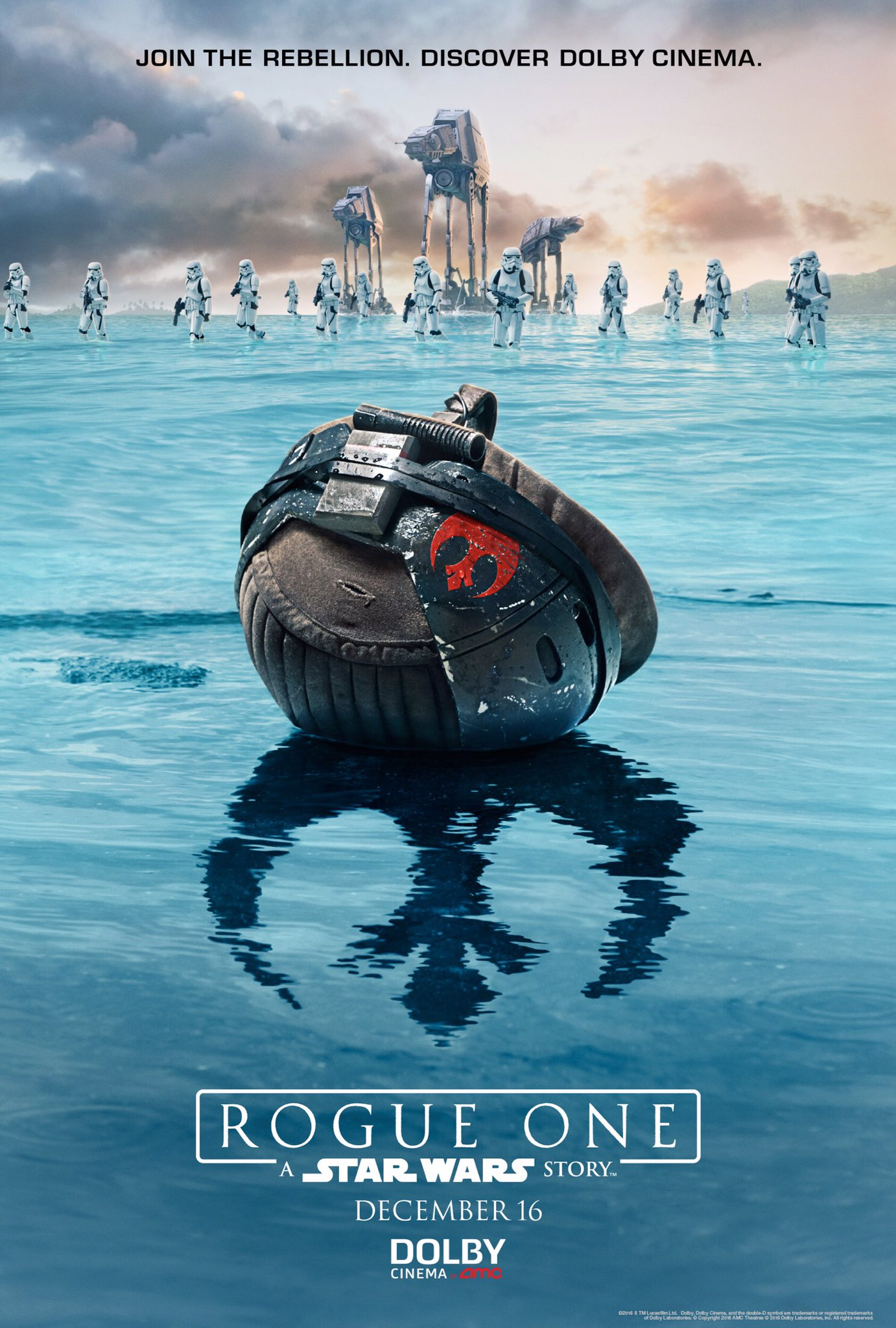 Rogue one Dolby Release Poster
