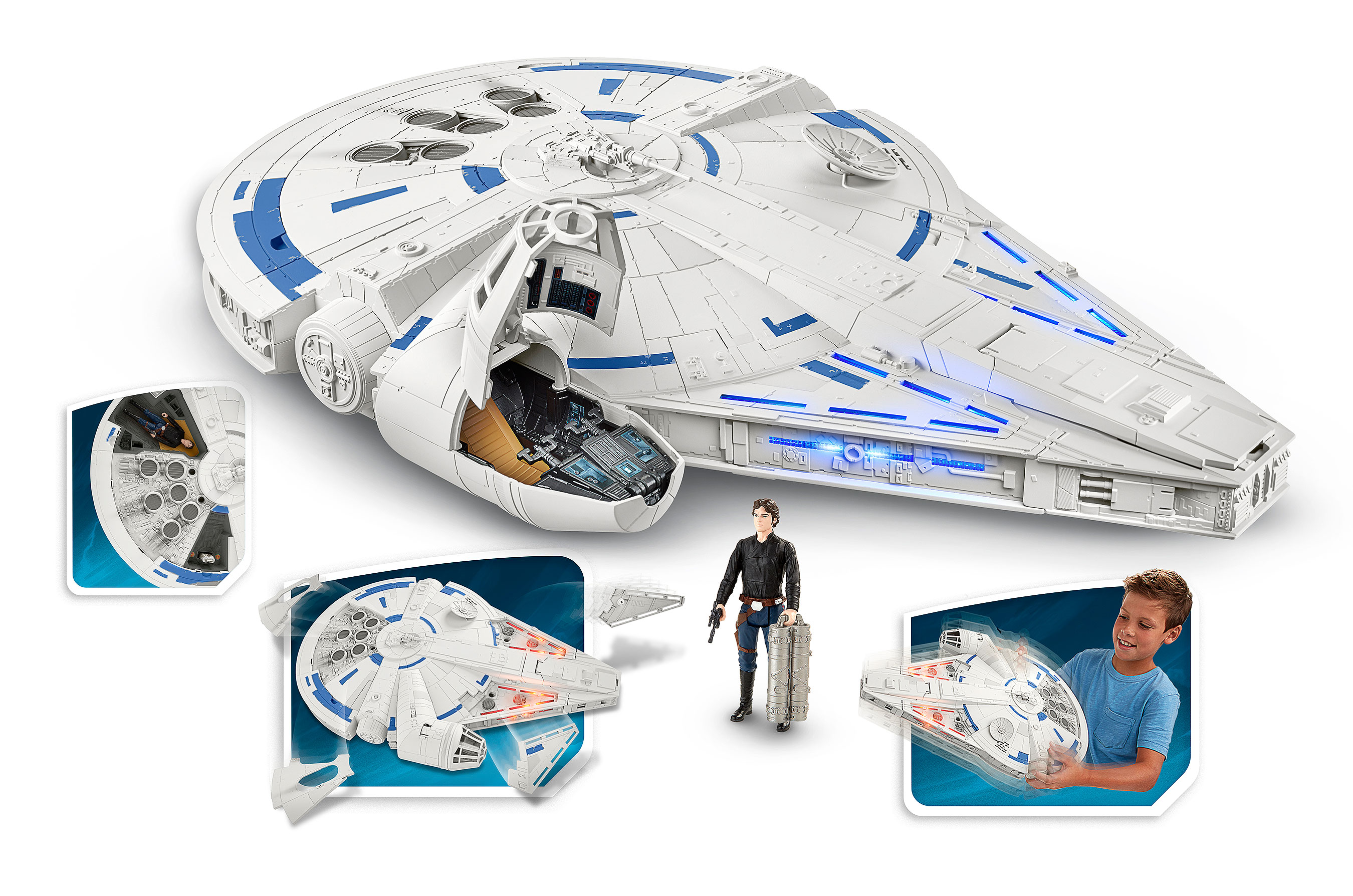 Star Wars Toys : Hasbro reveals new force link products ahead of toy fair