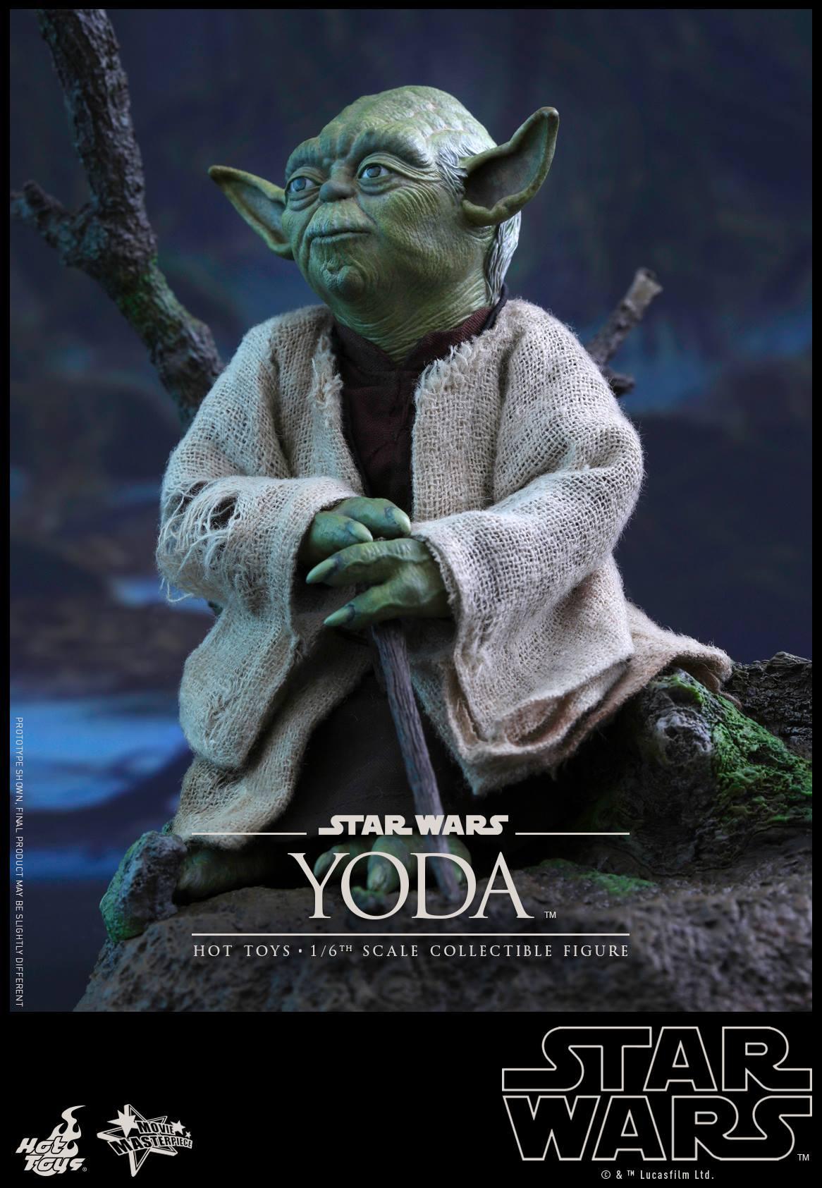 Update Hot Toys 1 6 Scale Yoda Figure Yakface Com