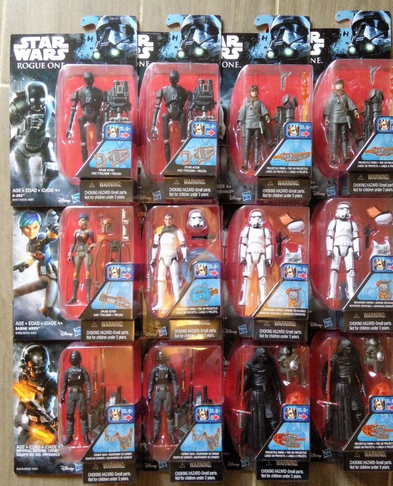 """Wave 1 Star Wars Rogue One Imperial Ground Crew 3.75/"""" Action Figure"""
