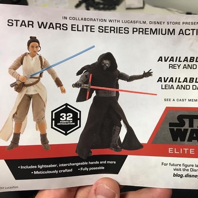 Star Wars The Force Awakens Disney Store Kylo Ren Elite Premium 10 in Figure NEW