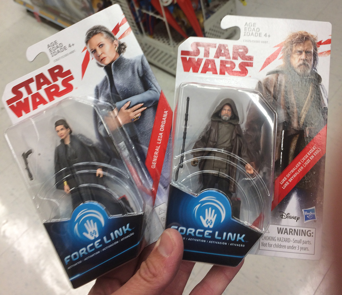 "STAR WARS LUKE SKYWALKER FORCE LINK 3.75/"" RETURN OF THE JEDI TARGET EXCLUSIVE"