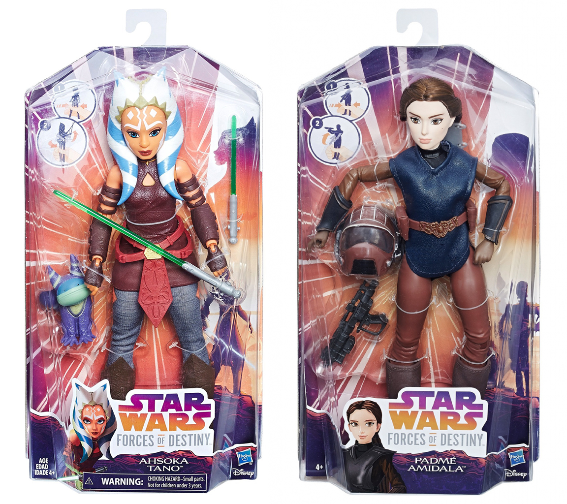 Star Wars Forces of Destiny Luke Skywalker and Yoda Adventure Doll Set IN STOCK
