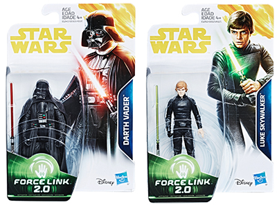 New Force Link 2 Vader and Luke Images | Yakface com