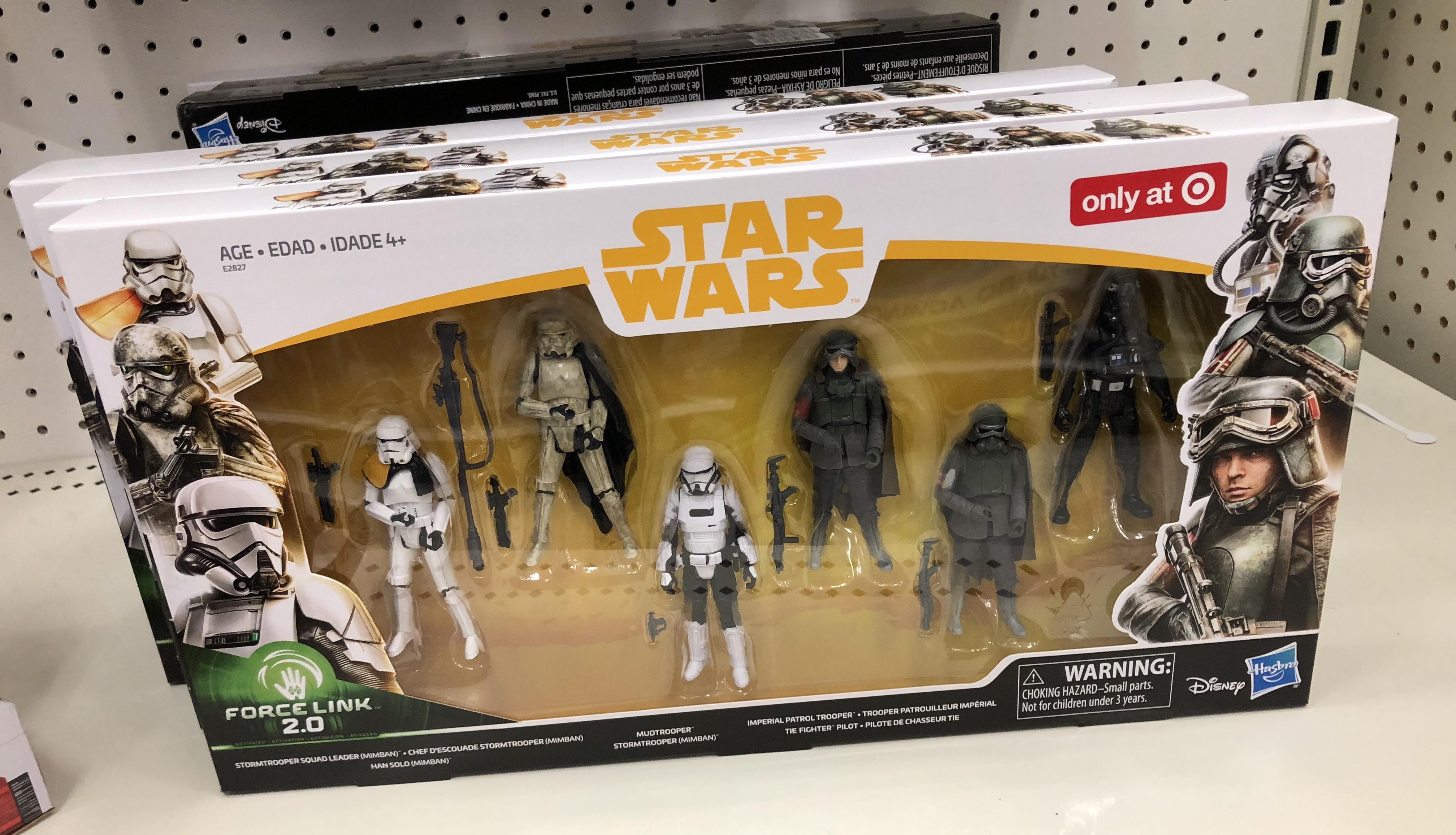 Target 6 pack Star Wars Stormtrooper New Solo 3.75 Action Figure Mimban