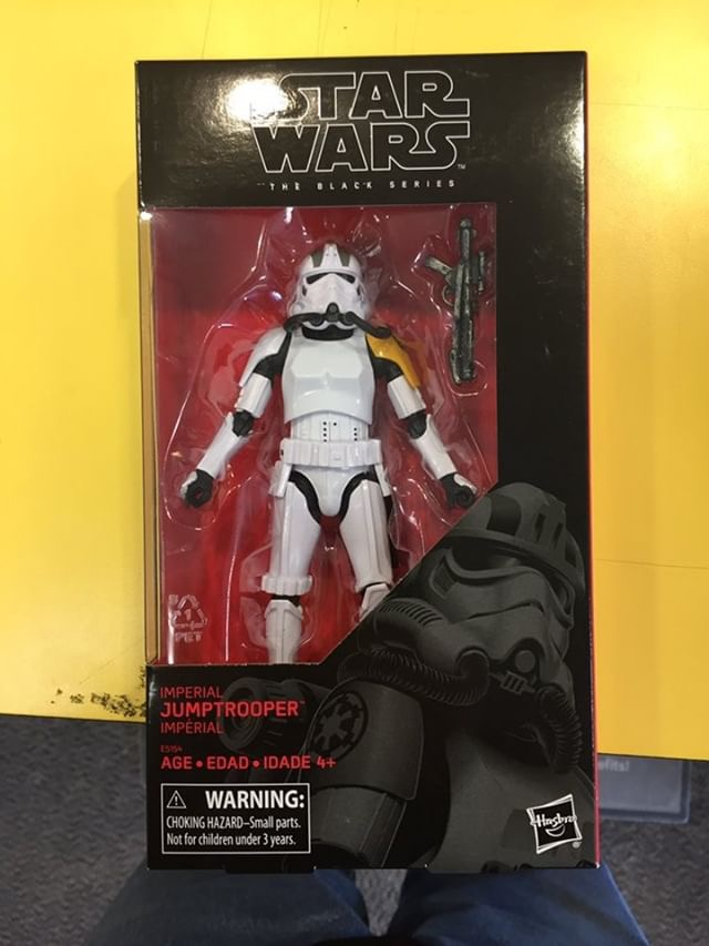 STAR WARS BLACK SERIES IMPERIAL JUMPTROOPER GAMESTOP EXCLUSIVE New In Box!