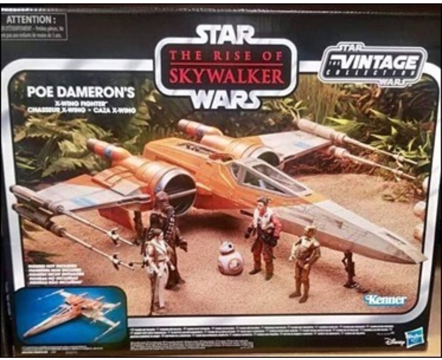 Tvc Poe Dameron S X Wing Revealed Yakface Com