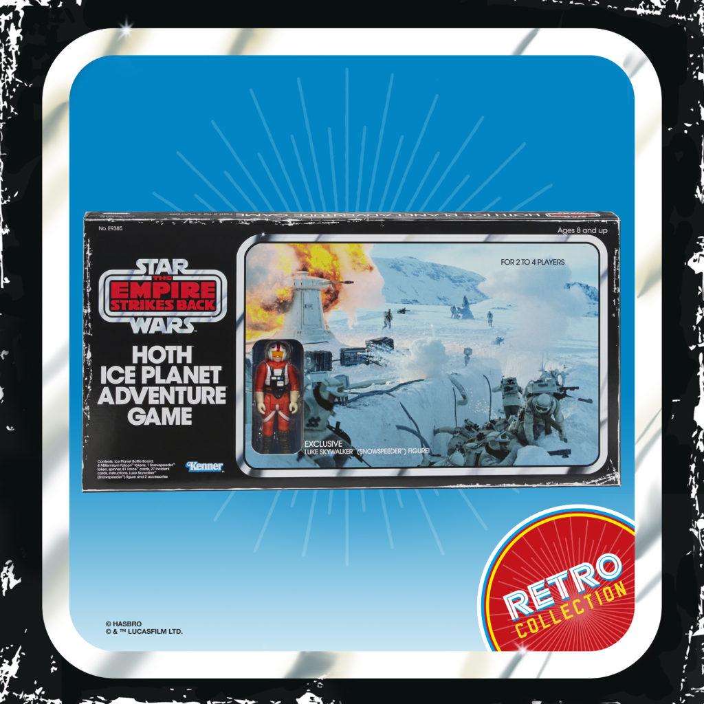 Star Wars Hoth Ice Adventure Board Game with Snowspeeder Luke Exclusive MISB